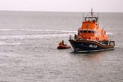 Englisches Rettungsboot Lizenzfreie Stockfotografie
