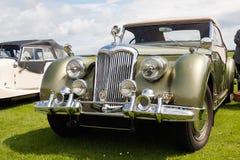 Englisches Riley-Retro- Auto Stockfotos