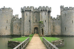 Englisches Schloss in England Lizenzfreies Stockfoto