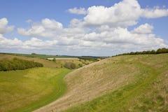 Englisches Tal im Frühjahr Lizenzfreies Stockbild