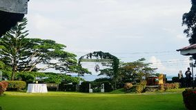 Englisches Tee-Haus-Restaurant, Sandakan lizenzfreies stockbild
