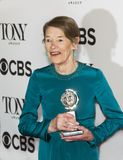 Glenda Jackson at the 2018 Tony Awards royalty free stock image