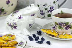 English afternoon tea Royalty Free Stock Photo