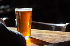 English ale on a table Stock Photography