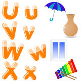 English alphabet. Stock Image