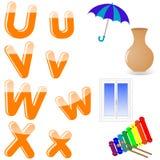 English alphabet. Stock Image
