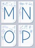 English alphabet. Stock Photos