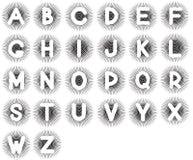 English alphabet. Royalty Free Stock Photo