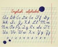 English Alphabet Stock Images