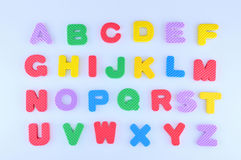 English alphabet Royalty Free Stock Image