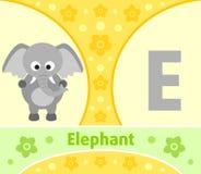 The English alphabet E Stock Photography