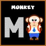 The English alphabet letter M Stock Photo