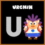 The English alphabet letter U Stock Photography