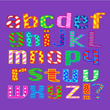 English alphabet. Letters. Royalty Free Stock Photography