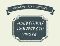 English alphabet letters Stock Photo