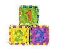English Alphabet puzzle Stock Photo