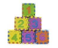 English Alphabet puzzle Stock Image