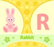 The English alphabet R Royalty Free Stock Image