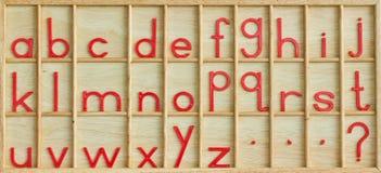 English alphabet. Royalty Free Stock Photography