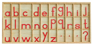 English alphabet. Royalty Free Stock Image