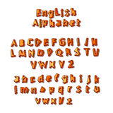 English alphabet vector Stock Image