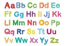 English alphabets Royalty Free Stock Images