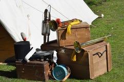 English army equipment royalty free stock photo