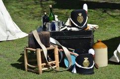English army  equipment Stock Photo