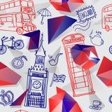 English background Stock Image