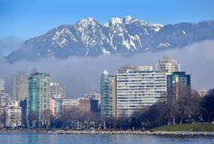 West End, Downtown Vancouver Stock Photos