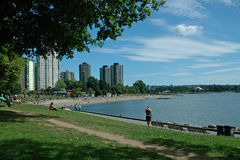 English Bay, Vancouver BC, Canada Stock Images