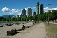 English Bay, Vancouver BC, Canada Royalty Free Stock Images