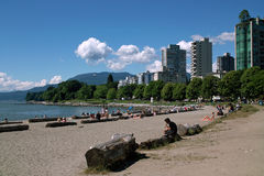 English Bay, Vancouver BC, Canada Stock Photo