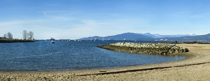 English bay in Vancouver Royalty Free Stock Photos