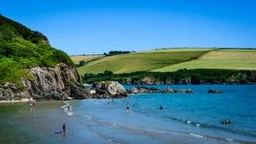 English beach - Mothecombe Royalty Free Stock Image