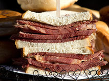 English beef sandwich Royalty Free Stock Photography