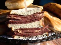 English beef sandwich Stock Photo