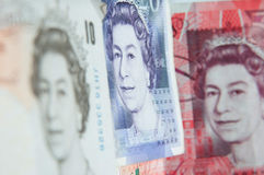 English bills Royalty Free Stock Photo