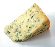 English Blue Stilton Cheese Royalty Free Stock Photography