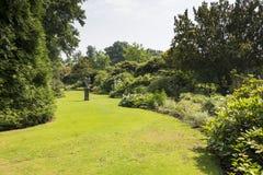 English border green grass garden Royalty Free Stock Photo