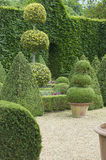 English boxwood garden Stock Photos