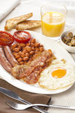 English breakfast. Great english breakfast ready to eat Royalty Free Stock Photo