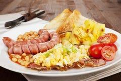 English breakfast. Stock Photos