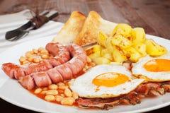 English breakfast. Royalty Free Stock Image
