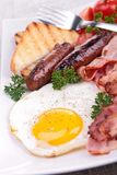 English breakfast Stock Photography