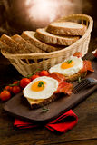 English Breakfast with Eggs and Bacon Royalty Free Stock Image