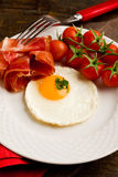English Breakfast with Eggs and Bacon Royalty Free Stock Photography