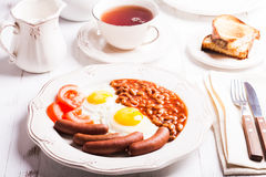 The English breakfast Stock Images