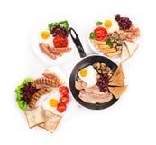 English breakfast Stock Photos