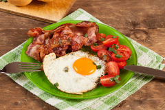 English breakfast. Royalty Free Stock Images